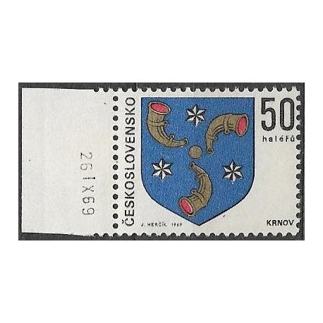 1795.-,datum, Znaky československých měst 1969,**,