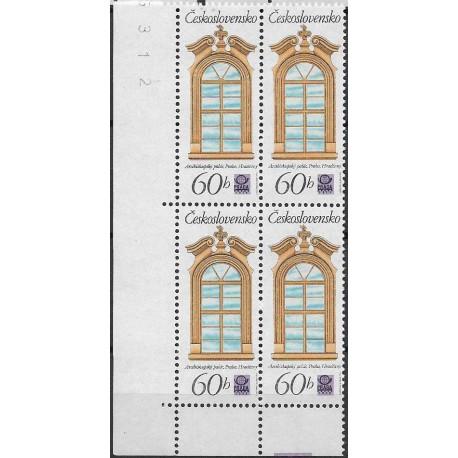 2243.-,čtbl,d.l.rohPA, Historická pražská okna,**,