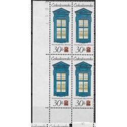2241.-,čtbl,d.l.rohPA, Historická pražská okna,**,