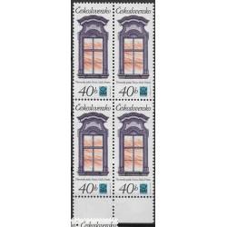 2242.-,čtbl, Historická pražská okna,**,