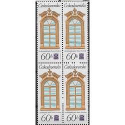 2243.-,čtbl, Historická pražská okna,**,