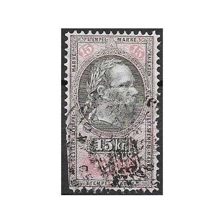 214. ,P3 R, Ö,kolková známka 1877,o,