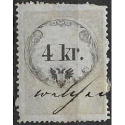 24. Ö,kolková známka, II. 1858,o,