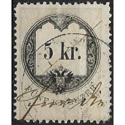 2. Ö,kolková známka, II. 1858,o,