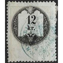29. Ö,kolková známka, II. 1858,o,