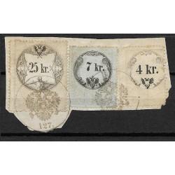 31.88.24. Ö,kolková známka, II. 1858,o,