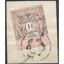 249.,vystřižek, Ö,kolková známka 1879,o,