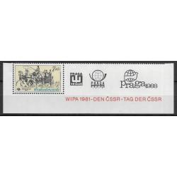 2489.,K, Mezinárodní výstava poštovních známek PRAGA ,**,