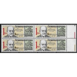 2626.,čtbl,p.kPA, Den čs. poštovní známky 1983,**,