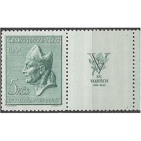 452.-,KP, 950. výročí smrti sv. Vojtěcha,**,