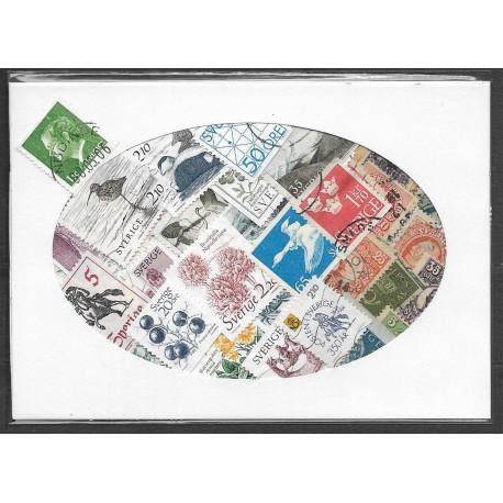 Švédsko- balíček poštovních známek 40.35 ,o,