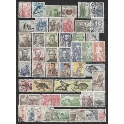 814- 867./49/. ročník poštovních známek 1955 ,o,