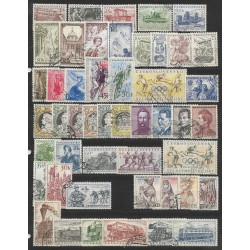 868- 906./48/. ročník poštovních známek 1956 ,o,