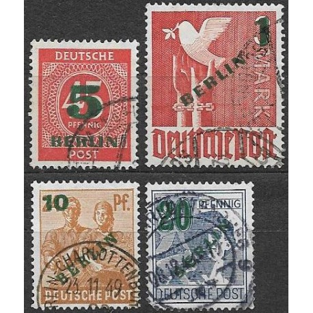 64- 67./4/, přetisk BERLIN ,o,