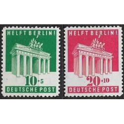 101- 102./2/, USA- VB BERLÍN- Brandenburská brána ,**,