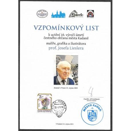 """PaL 2005 10. výročí úmrtí prof. Josefa Lieslera ,o"""","""