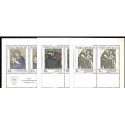 57-59/3/,KD,Umělecká díla na známkách,**,