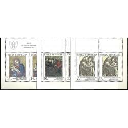 57-59/3/,KH,Umělecká díla na známkách,**,