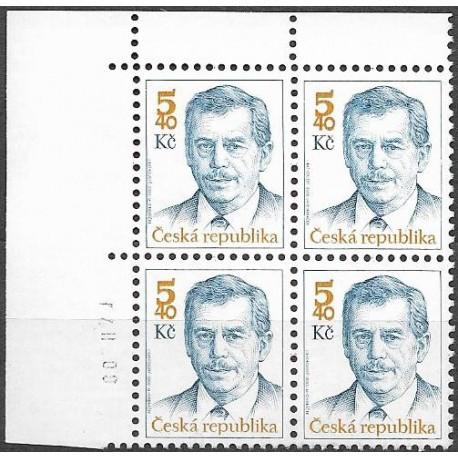 248.,čtbl,datum, prezident ČR Václav Havel,**,