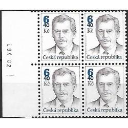 335.,čtbl, Prezident Václav Havel,**,