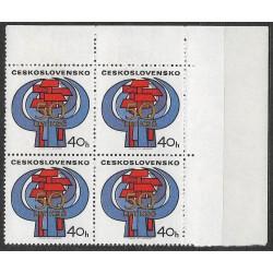 1897.-,čtbl.h.p.rohPA, 50. výročí založení KSČ,**,