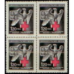112.čtbl, Německý červený kříž IV.vydání,**,