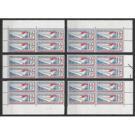 2466.,čtbl, Den čs. poštovní známky 1980,**,