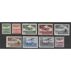 L7- 15./9/, Letecké známky- definitivní vydání,**,