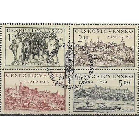 """558/561.st,ctbl, Celostátní výstava poštovních známek stará Praha 1950,o"""","""