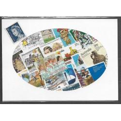 Austrálie , balíček poštovních známek 35/35,o,