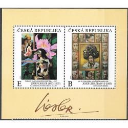 1078- 1079./2/,KD, díla Josefa Lieslera doplněná jeho podpisem v meziarší ,**,