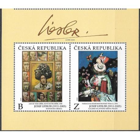 1079- 1080./2/,KH, díla Josefa Lieslera doplněná jeho podpisem v meziarší ,**,