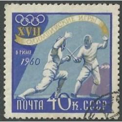 2376.- Olympijské sporty- šerm ,o,