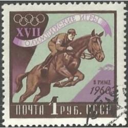 2378.- Olympijské sporty- jezdectví- koně,o,