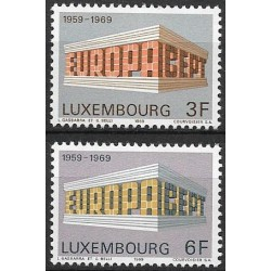 788- 789./2/, Luxembourg- EUROPA ,**,
