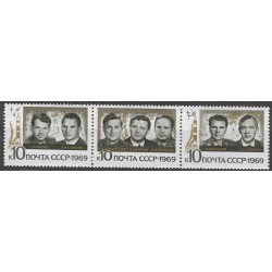 3682- 3684./3/,st, kosmonautika,**,