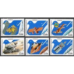 2650- 2655./6/, kosmonautika UNISPACE 82 Wien ,**,