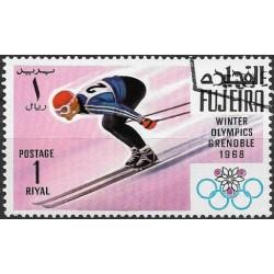 """217.- sport- OLYMPIÁDA 1968- sjezd na lyžích ,o"""","""