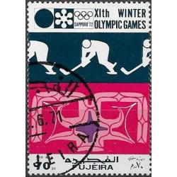 "725.- Olympiáda- Saporo 1971 /I/, ,o"","