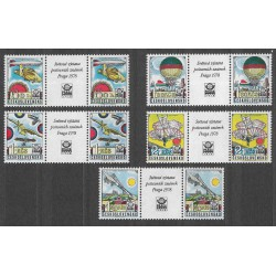 L86- 90./5/,S,zn.K.zn., Historické letectví - PRAGA 1977,**,