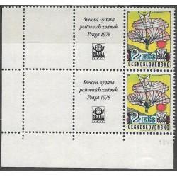 L89.KKL,d.l.rohPA, Světová výstava poštovních známek PRAGA 1978,**,