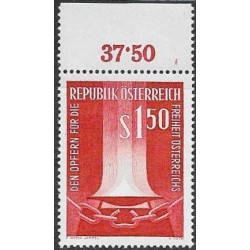 1084. 1961 Rakousko ,**,