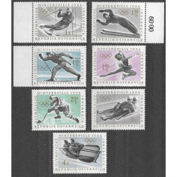 1136- 1142./7/.,poč., Olympiáda Innsbruck 1963 ,**,