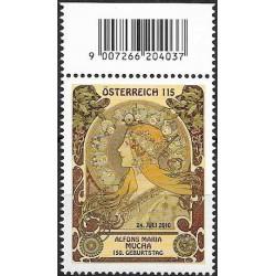 2884. Alfons Mucha 150 let od narození- Zvěrokruh ,**,