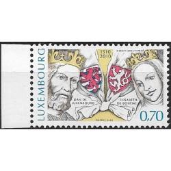 1861. Luxembourg 700 let od nástupu Lucemburků na český trůn ,**,