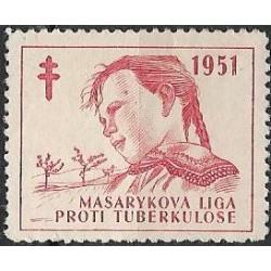 1951 MASARYKOVA LIGA PROTI TUBERKULOSE 1951 ,**,