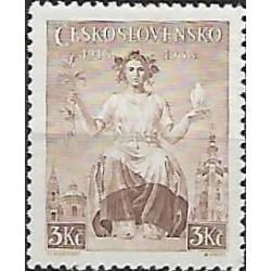 349.- 20. výročí vydání prvních čs. známek,**,