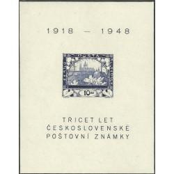 497.,A, 30 let čs. Známky,/*/,