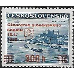 350., Otevření slovenského zemského sněmu ,**,