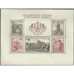 853- 857.,A, Mezinárodní výstava známek PRAGA 1955,**,